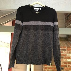 Calvin Klein Black/Grey Sweater